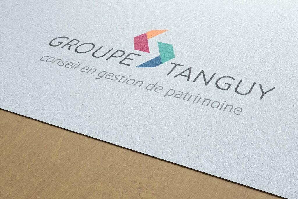 Tanguy Finances logo charte graphique Rennes