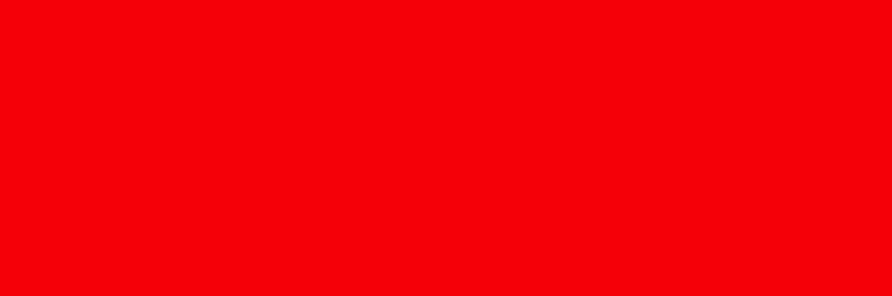 sens des couleurs : rouge