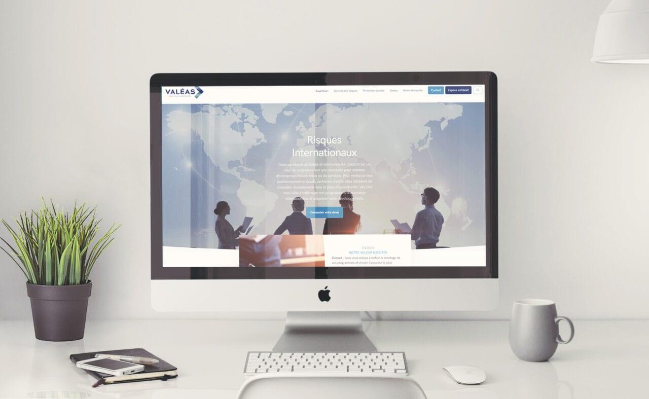 Valéas Site internet