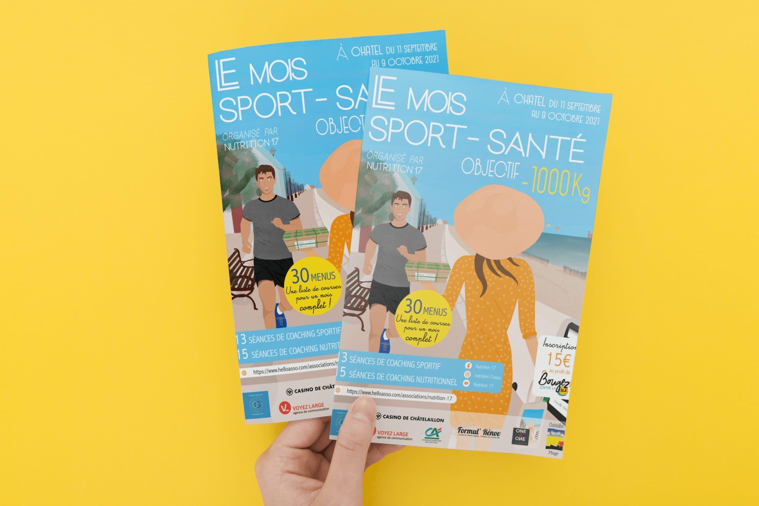 Flyer Nutrition 17 - Mois sport - santé